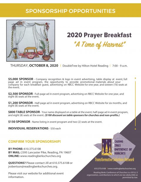 Annual Prayer Breakfast