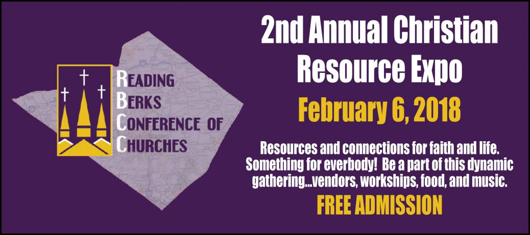 Christian Resource Expo – Reading Berks Conference of Churches